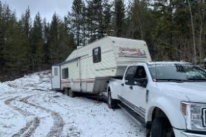 dakota towing trailer towing