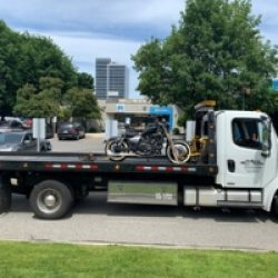 dakota towing motorcycle towing